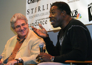 Harold Ramis and Ernie Hudson at AFF 2005