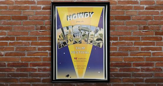 10th annual festival poster