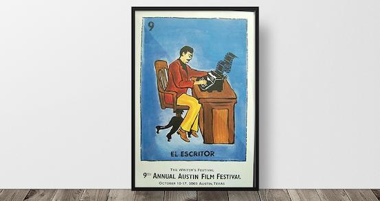 9th annual festival poster