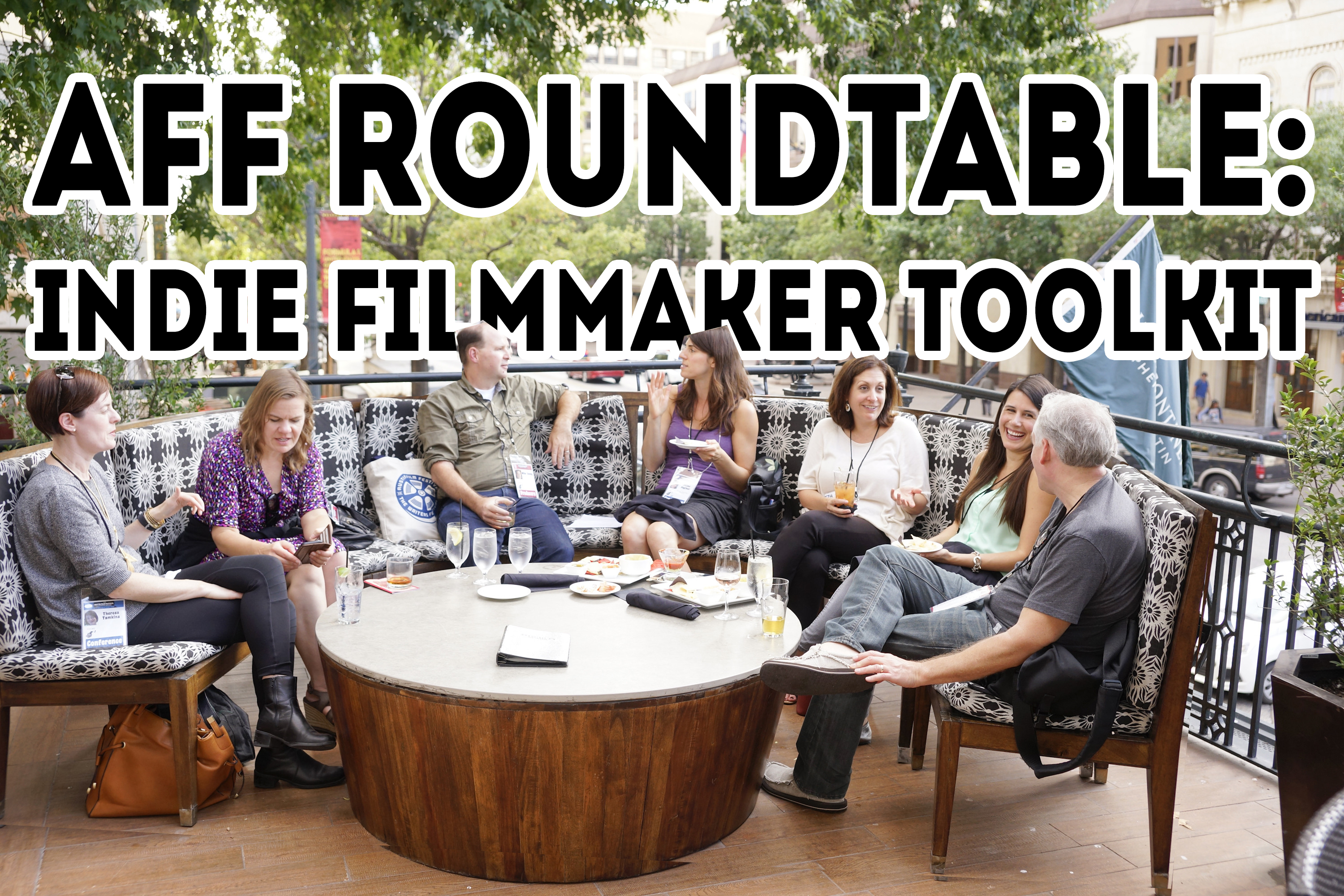 Round Table Tracy Roundtable Event Austin Film Festival