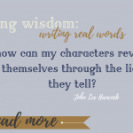 Weekly Writing Wisdom: real words