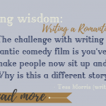 Weekly Writing Wisdom: Writing a Romantic Comedy