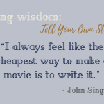 Weekly Writing Wisdom: Telling Your Own Story