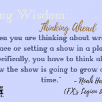 Weekly Writing Wisdom: Noah Hawley