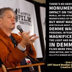 AFF Board Member Erin Hallagan Remembers Jonathan Demme