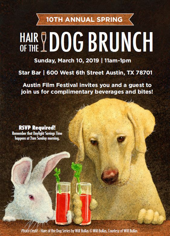 10th Annual Hair Of The Dog Brunch Austin Film Festival