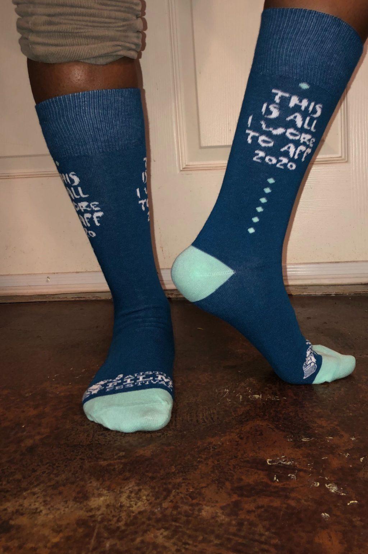 AFF socks blue